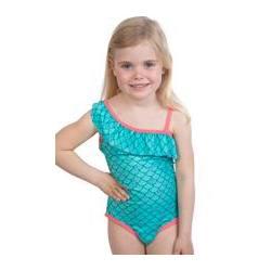 Badeanzug - kleine Mermaid